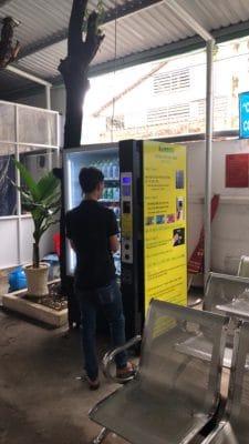 Máy Bán hàng tự động Bamboo Tại BV Q3 HCM