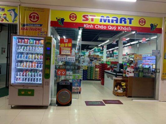 Triển khai máy Bán hàng tự động tại Siêu thị ST Mart Sóc Trăng